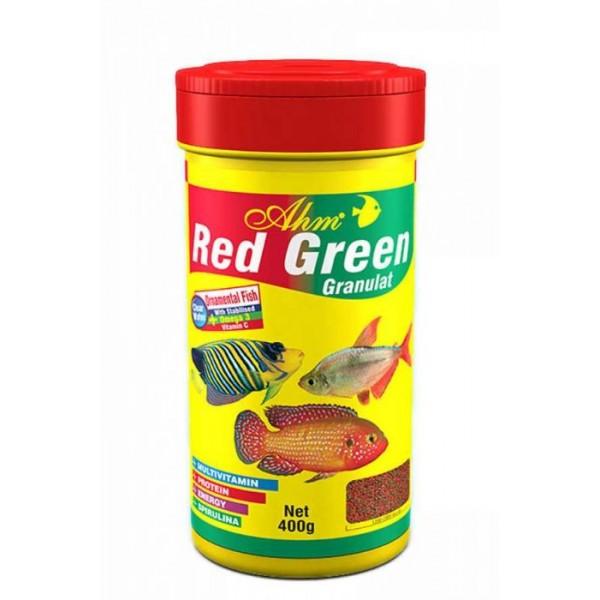 AHM CICHLID RED&GREEN GRANULAT 100ML