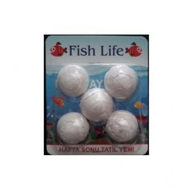 FISH LIFE TATİL YEMİ 5'Lİ